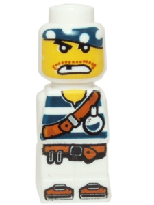 LEGO® GAMES MICROFIGURKA PIRATE
