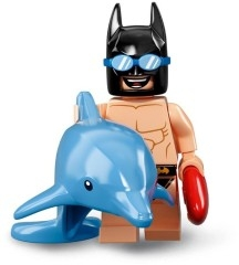 LEGO BATMAN 71020 MINIFIGURKA MINIFIGURKY BATMAN 2 SWIMMING POOL BATMAN