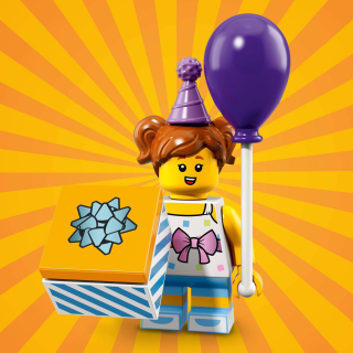 LEGO 71021 MINIFIGURKY 18 SÉRIE Birthday Party Girl