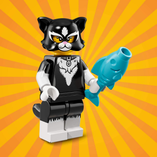 LEGO 71021 MINIFIGURKY 18 SÉRIE Cat Costume Girl