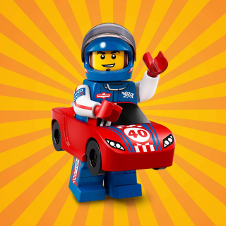 LEGO 71021 MINIFIGURKY 18 SÉRIE Race Car Guy