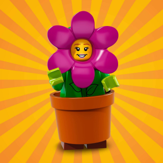 LEGO 71021 MINIFIGURKY 18 SÉRIE Flower Pot Girl