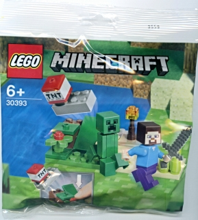 LEGO MINECRAFT 30393 Steve a Creeper