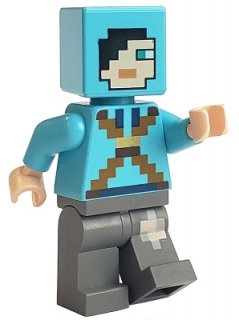 LEGO MINECRAFT FIGURKA DRAGON SLAYER